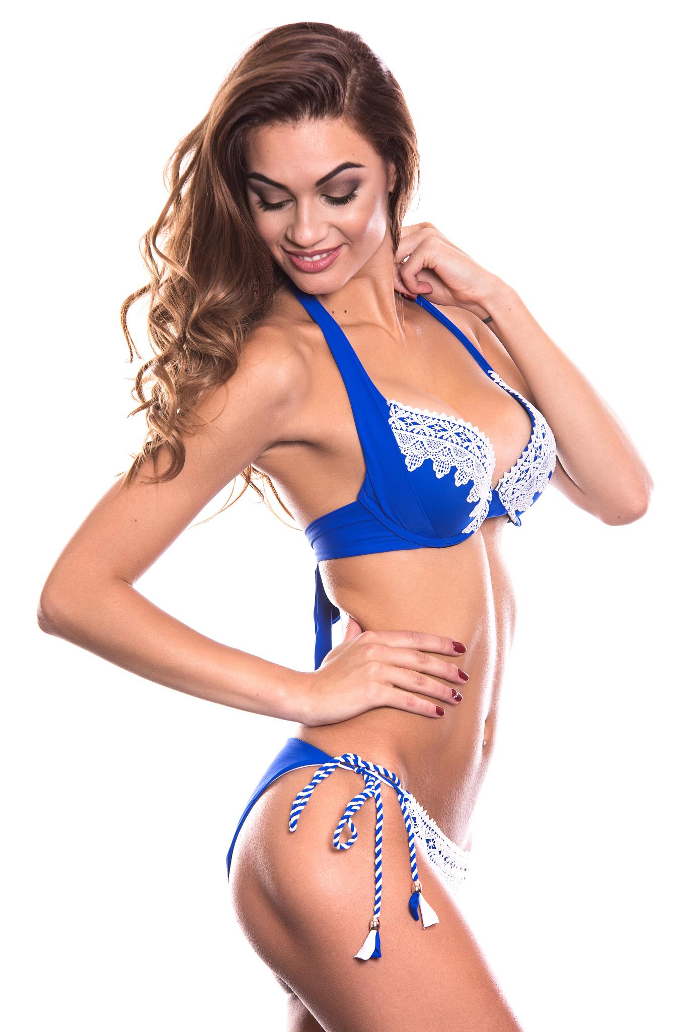 ... Spitze Volk Royal Blau ‹Return to Previous Page. Bug Fix Sale! 22. RELLECIGA  Damen Bademode Bügel Bikini mit ... 89ece8f839
